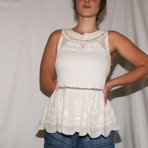 anthropologie meadow & rue sweet lace tank